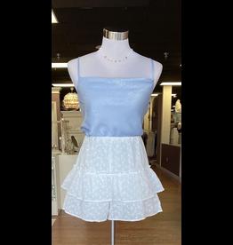 Skirts 62 White Eyelet Skort
