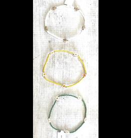 Jewelry 34 Mini Flower Bead Bracelet