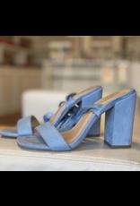 Shoes 54 Wrap Up Light Blue Heel