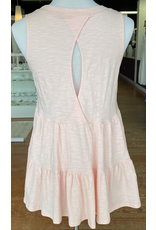Tops 66 Blush Baby Open Back Top