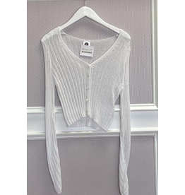 Tops 66 Spring White Sweater
