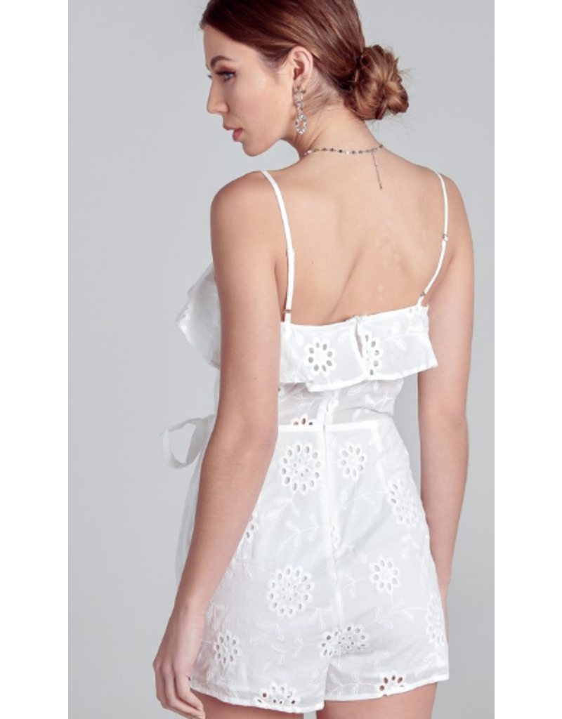 Rompers 48 All Eyes On You White Eyelet Romper