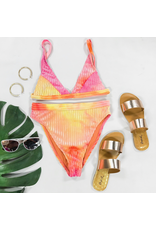 Tops 66 Revibe Tie Dye Bikini Top