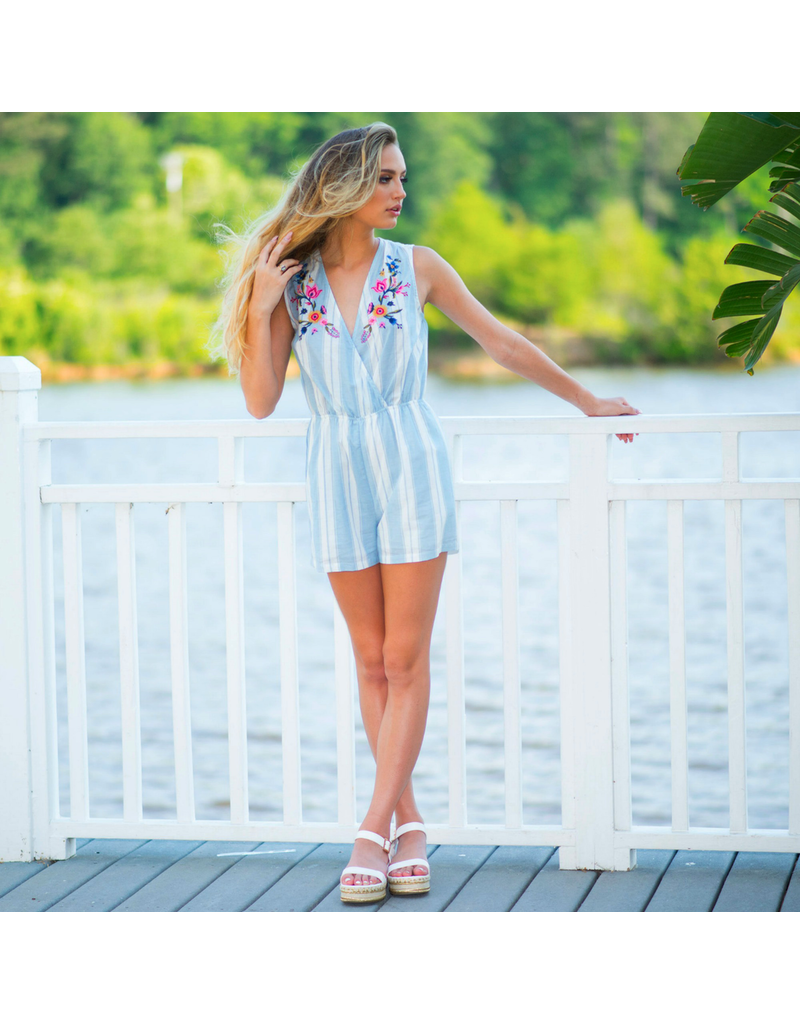 Rompers 48 Summer Floral Embroidered Romper