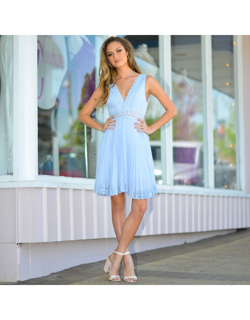 Dresses 22 Everlasting Love Sky Blue Dress