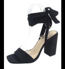 Shoes 54 Wrap Up Black Heel