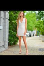 Dresses 22 Simple Elegance Strappy Back Nude/Blush Dress