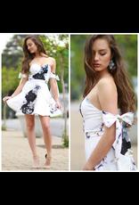 Dresses 22 Florals Forever Tie Sleeve Dress