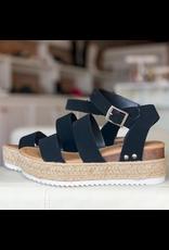 Shoes 54 Black Espadrille Sandal