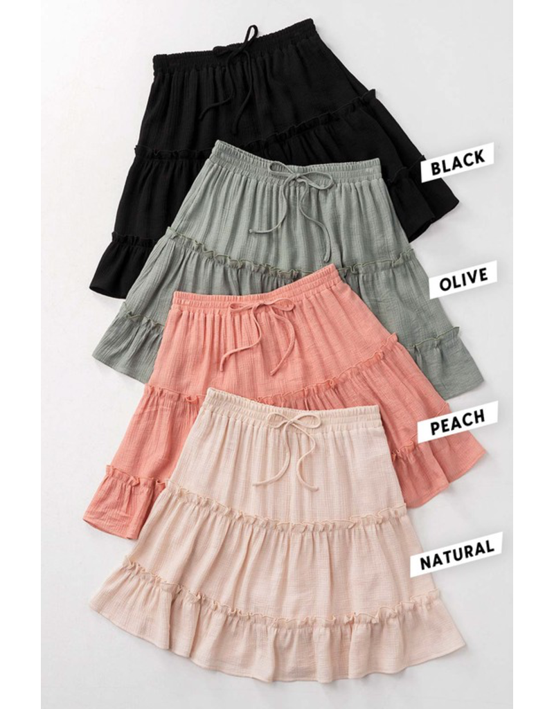 Skirts 62 Stroll In It Tiered Skirt