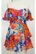 Rompers 48 Bright Now Floral Romper