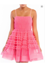 Dresses 22 What A Frill Hot Pink Party Dress