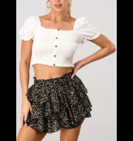 Skirts 62 Dots on Dots Ruffle Skorts