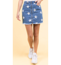 Skirts 62 Star Denim Skirt