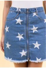 Skirts 62 Star Denim Skirt