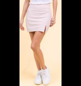 Skirts 62 Check It Out Blush Pink Skirt