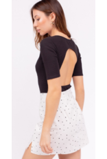 Tops 66 Open Back Bodysuit