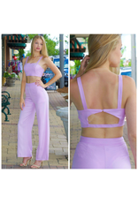 Tops 66 Lush In Lilac Crepe Top