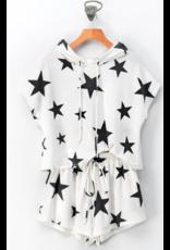 Shorts 58 Star Power White/Black Star Shorts
