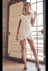 Dresses 22 Eyelet Dream White Wrap Dress