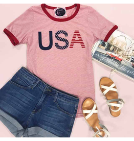 Tops 66 USA Celebration Tee