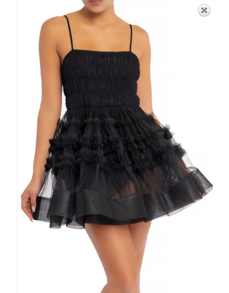 Dresses 22 What A Frill Black Party Dress