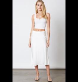 Skirts 62 Summer In Satin White Skirt