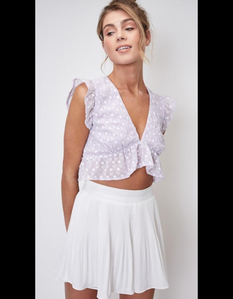 Skirts 62 Dressy Pleated White Skort