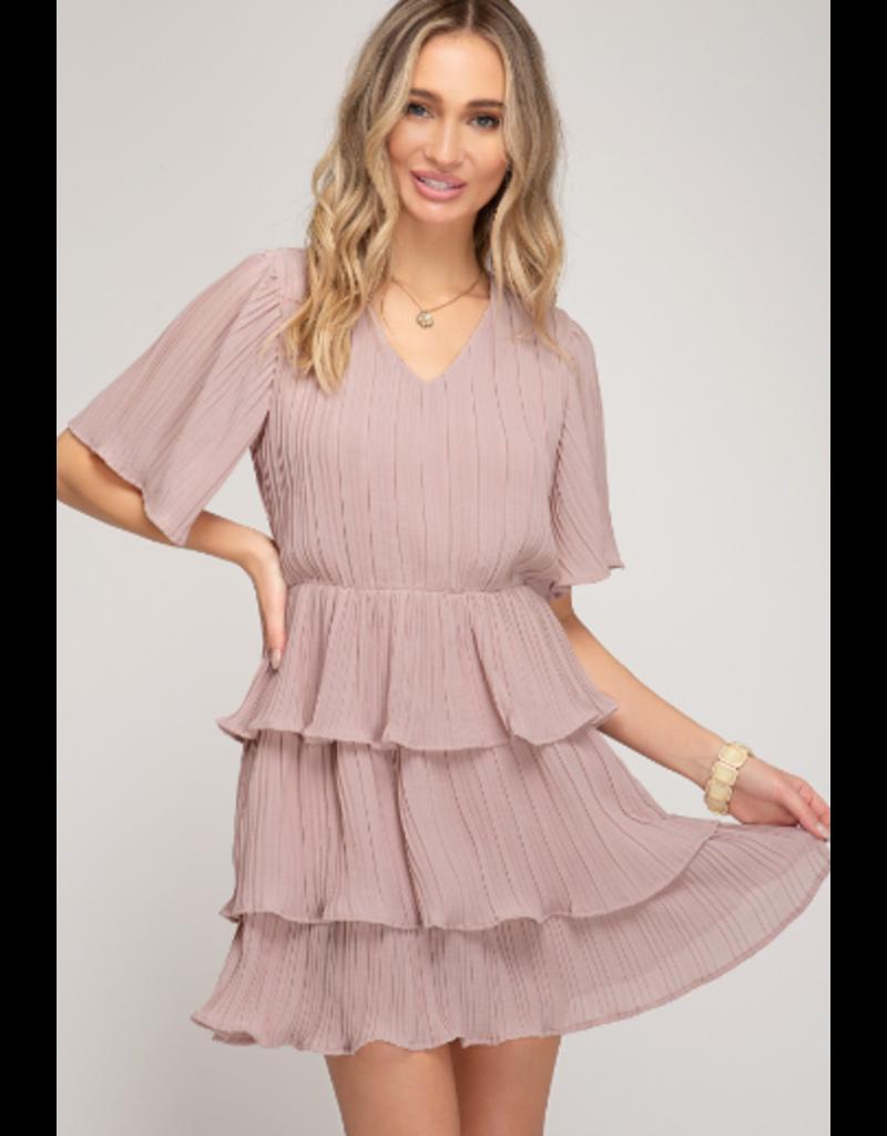 Dresses 22 Pretty Pleats Yes Blush Dress