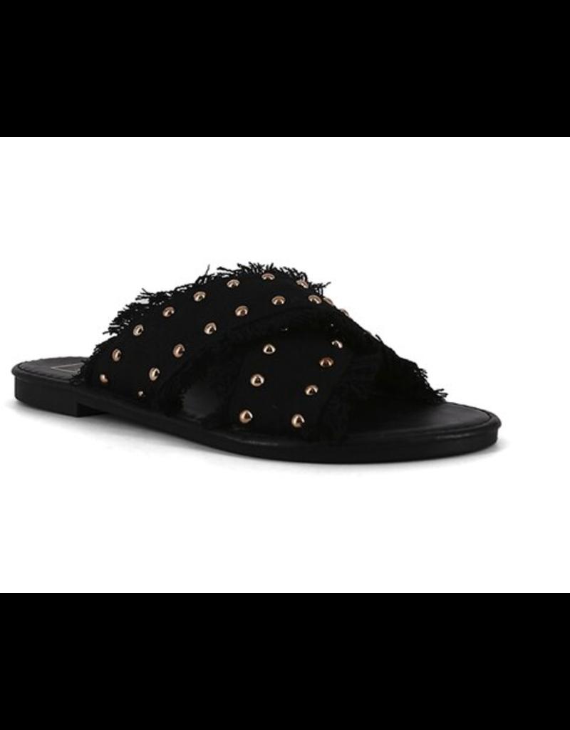 Shoes 54 Summer Stud Black Slide
