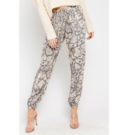 Pants 46 Now or Never Snake Joggers