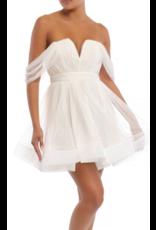 Dresses 22 Sheer Delight White Tulle Dress