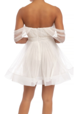Dresses 22 Sheer Delight White Tulle Dress