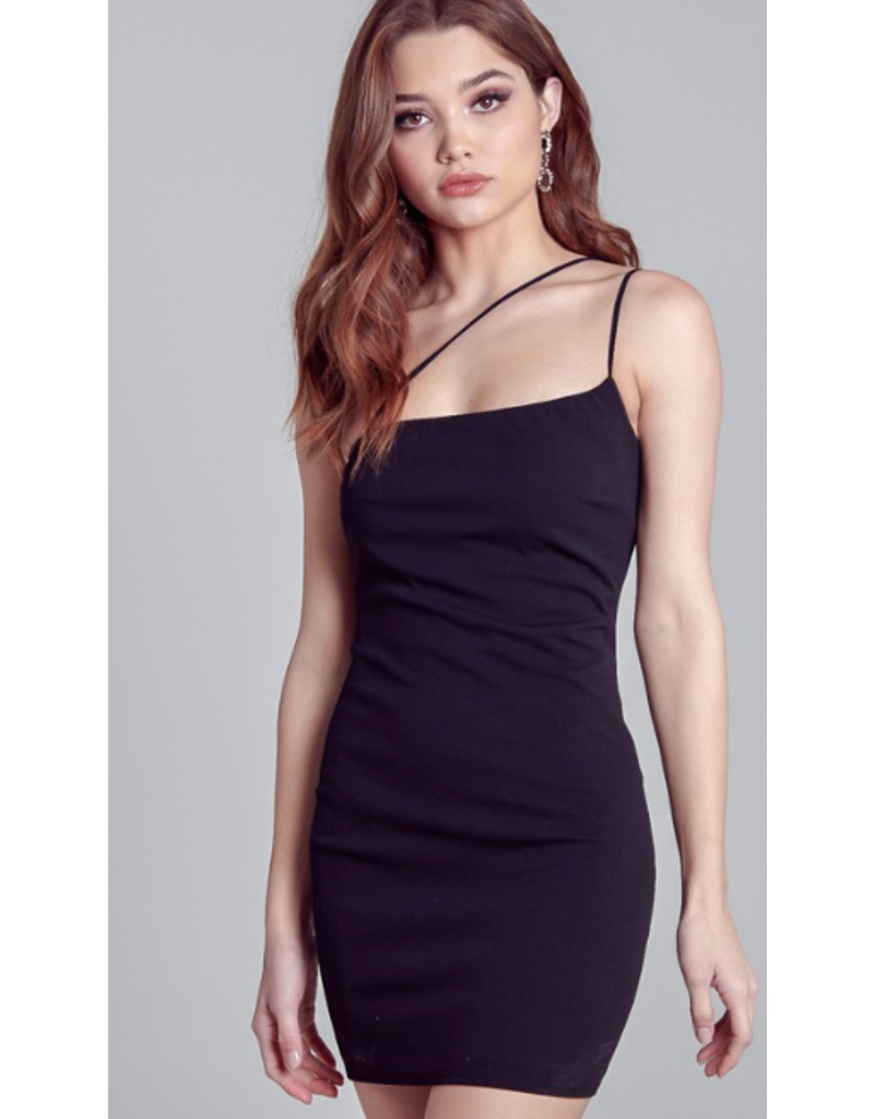 Dresses 22 Night On The Town Strappy Front LBD