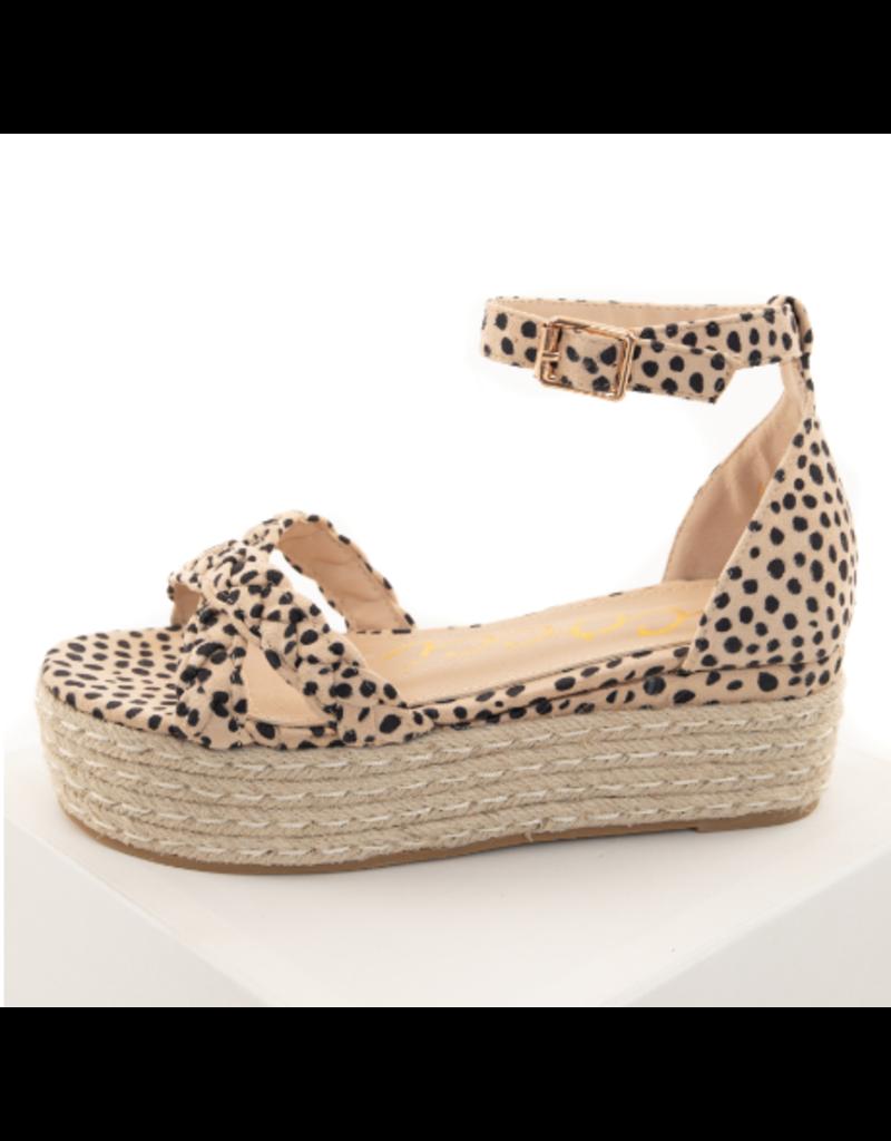 Shoes 54 Cheetah-lious Espadrille