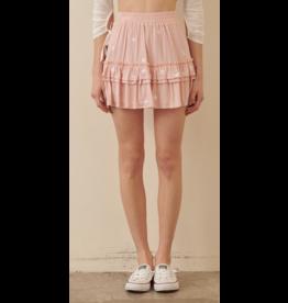 Skirts 62 Star Power Pink/White Skirt