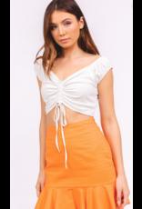 Tops 66 Summer Essentials CInche White Top