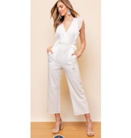 Jumpsuit Lace Celebrate White Jumpsuit