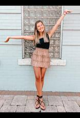 Skirts 62 Polka Dot Party Sand/Black Tulle Skirt