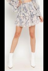 Skirts 62 Blush Snake Smock Skirt