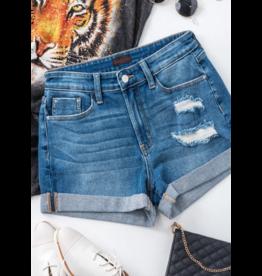 Shorts 58 Cute Cuffed Denim Shorts