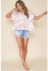 Tops 66 Such A Baby Doll Tie Dye Top
