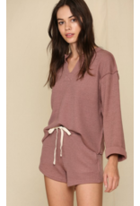 Tops 66 Cozy Does It Rosewood Top