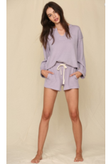 Tops 66 Cozy Does It Lavender Top