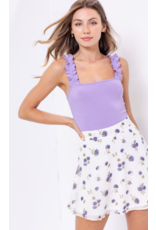 Tops 66 Fun and Fun Lavender Bodysuit