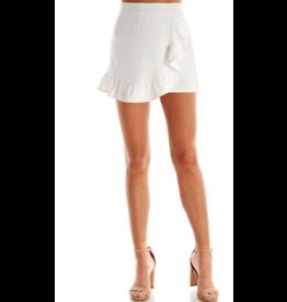 Skirts 62 Ruffle White Envelope Skort