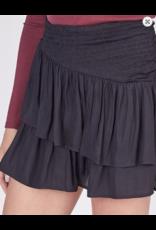 Skirts 62 Turn It Up Black Smock Skort