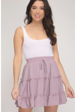 Skirts 62 Layers Of Lavender Ruffle Skirt