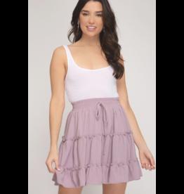 Skirts 62 Layers Of Lavender Ruffle Skirt