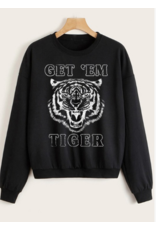 "Tops 66 Get""Em Tiger Black Sweatshirt"